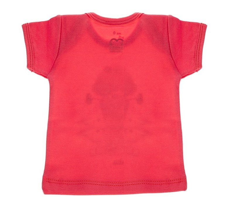 تی شرت آستین کوتاه نوزادی آدمک مدل Woolly Bear