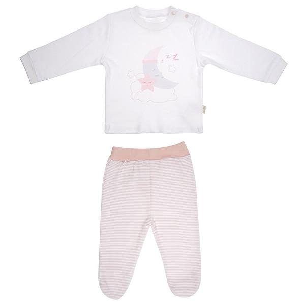 ست تی شرت و شلوار نوزادی کیتی کیت مدل 14969P