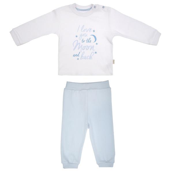 ست تی شرت و شلوار نوزادی کیتی کیت مدل 13771B