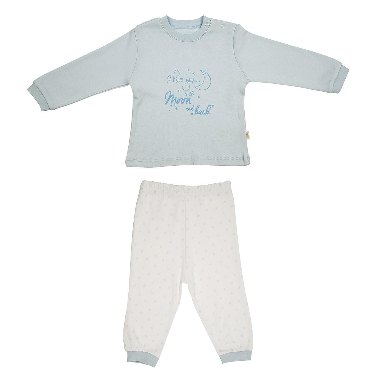 ست تی شرت و شلوار نوزادی کیتی کیت مدل 14693B