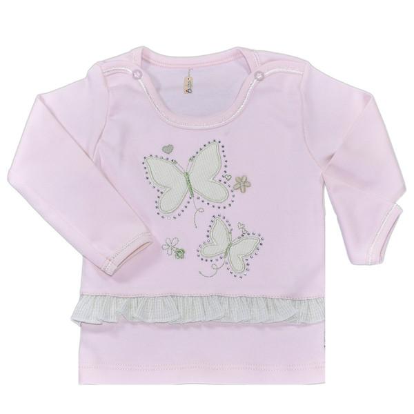 تی شرت نوزادی نیروان طرح پروانه