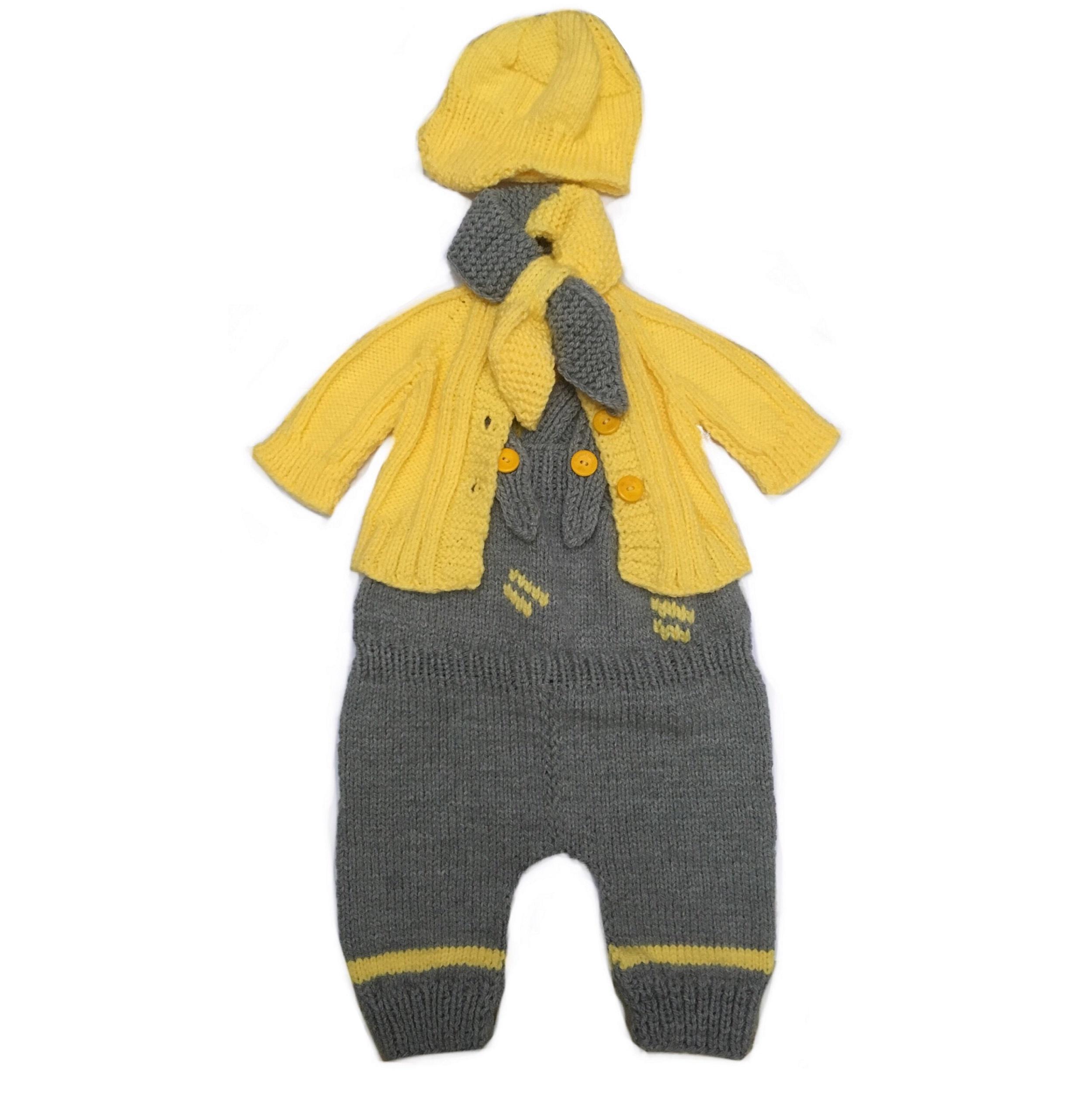 ست لباس نوزادی دخترانه گالری خرمالو مدل پاییزان کد 9