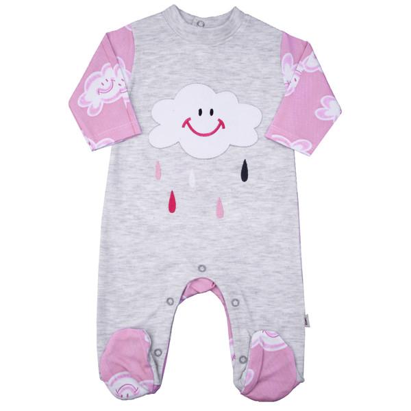 سرهمی نوزادی کد ABR01 رنگ صورتی