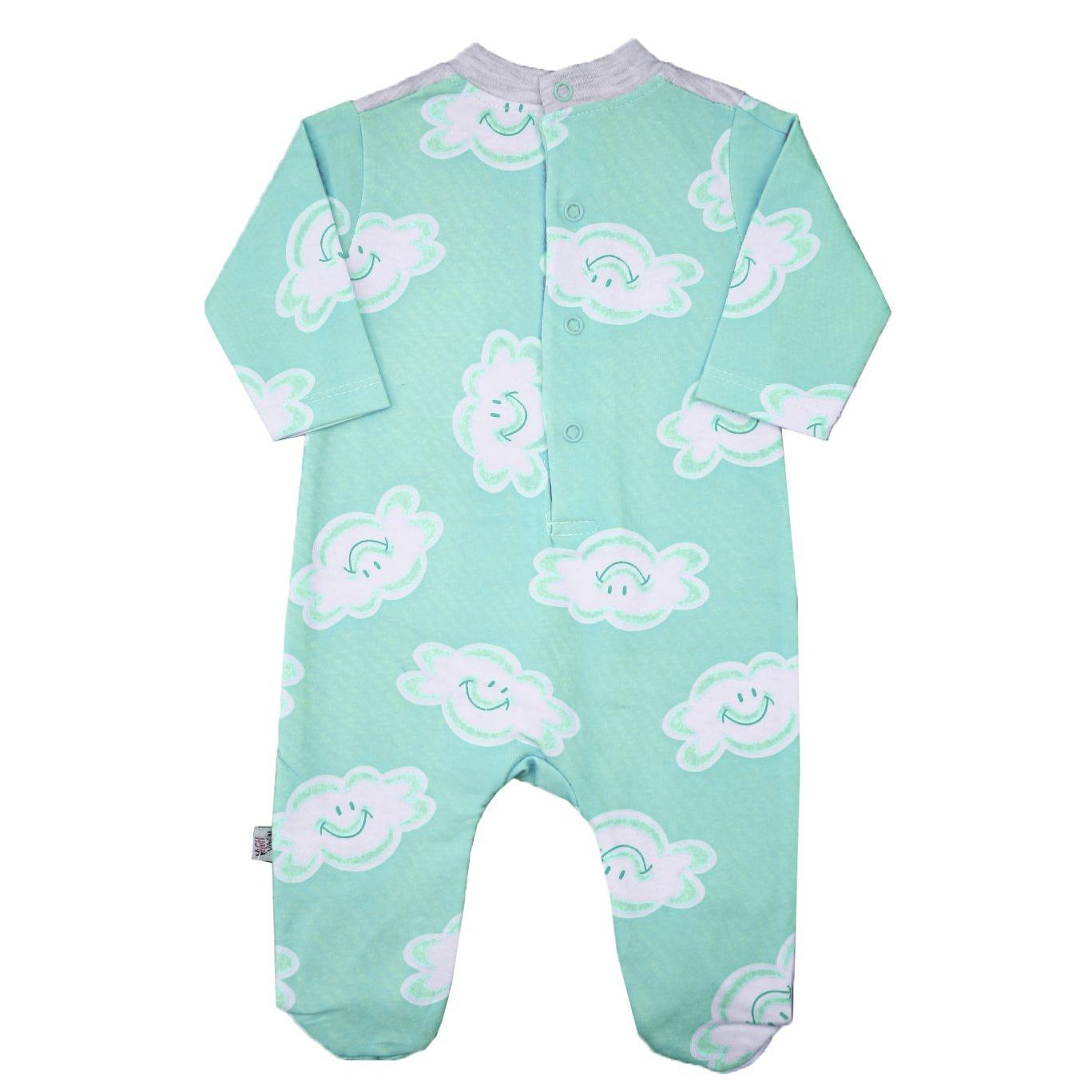 سرهمی نوزادی کد ABR03 رنگ سبز