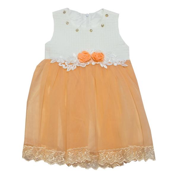 لباس مجلسی دخترانه مهبان طرح سریر-03