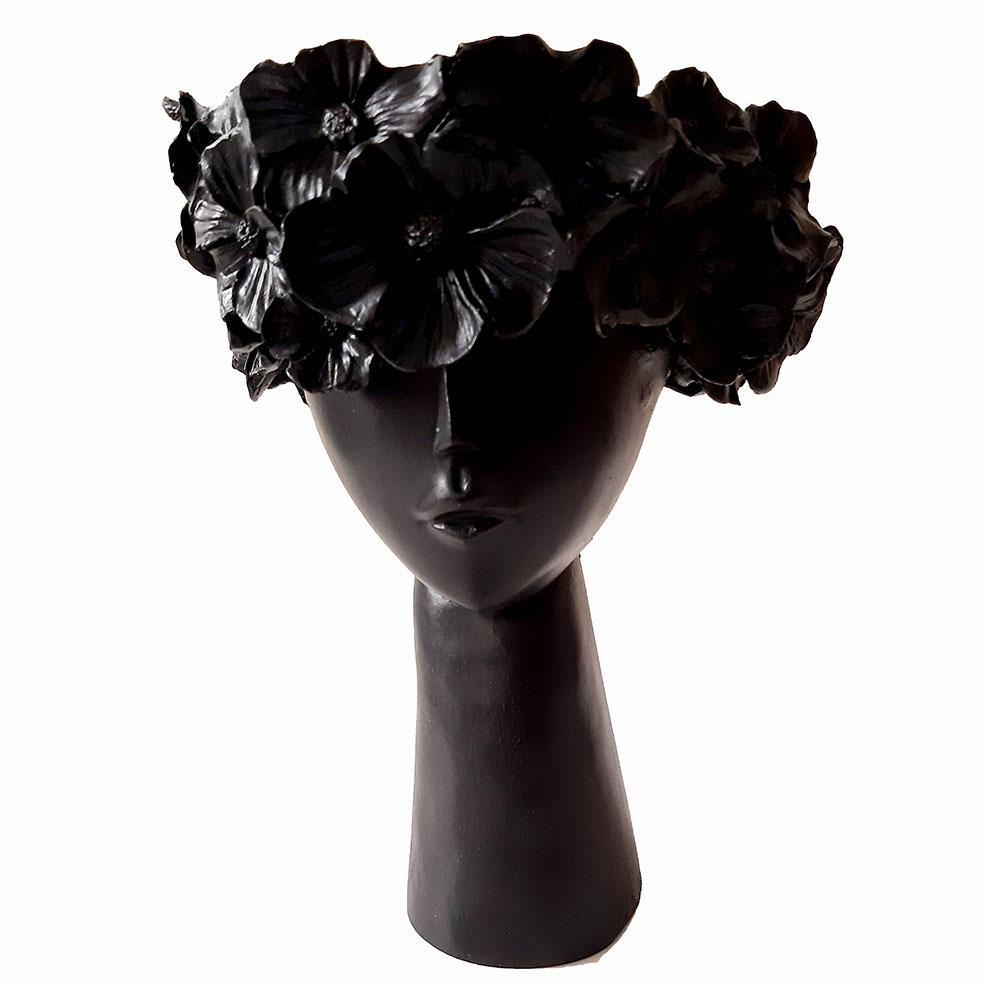 مجسمه مدل بانو طرح تاج گل