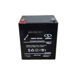 باتری یو پی اس 12 ولت 4.5 آمپر صبا باتری مدل SB