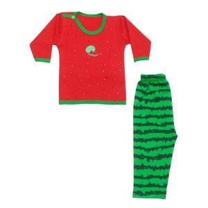 ست لباس نوزادی طرح یلدا کد 2
