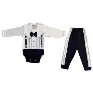 ست لباس نوزادی بیبی ست مدل توکستو