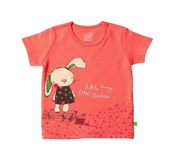 تی شرت آستین کوتاه نوزادی شابن طرح بانی