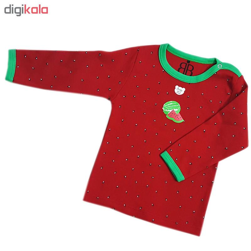 ست لباس 3 تکه بچگانه بارلی طرح یلدا-2