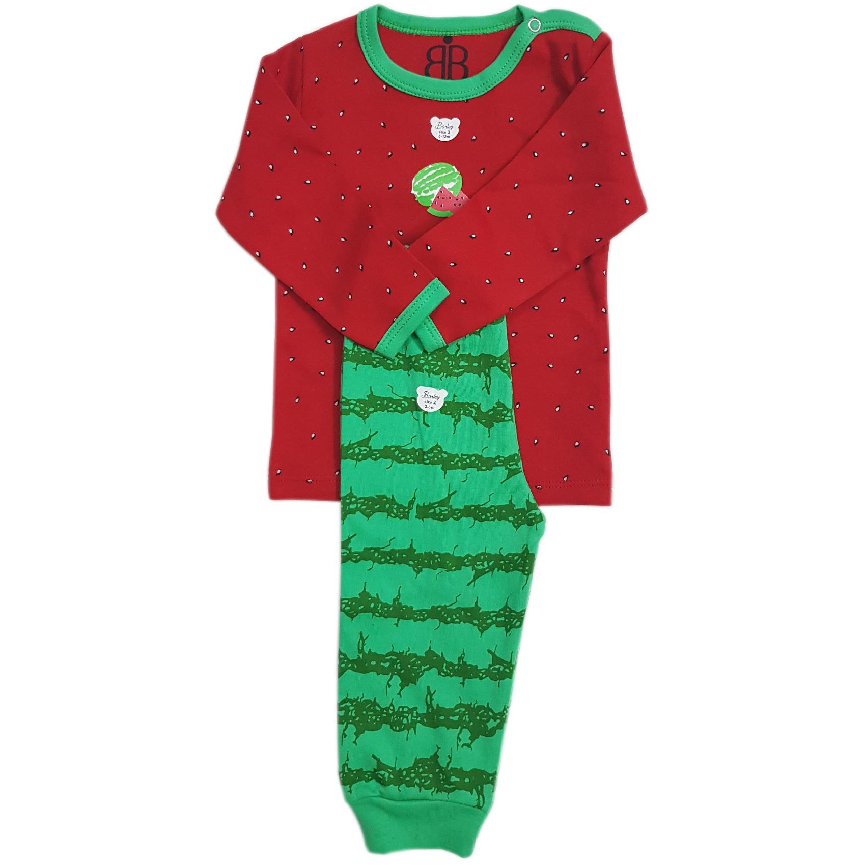 ست لباس 2 تکه بچگانه بارلی طرح یلدا-2
