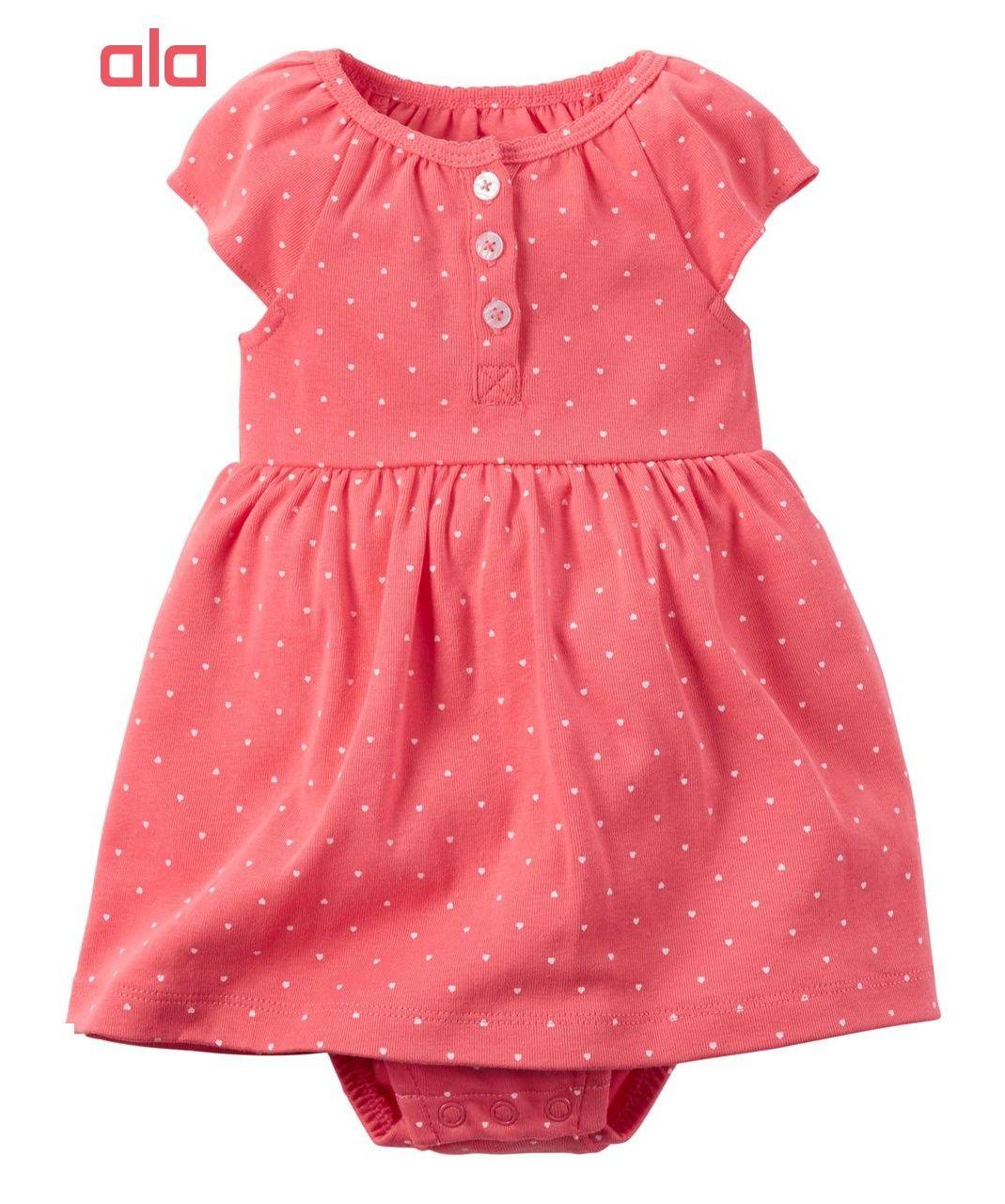 ست 2 تکه لباس نوزادی دخترانه کارترز مدل 840 -  - 2