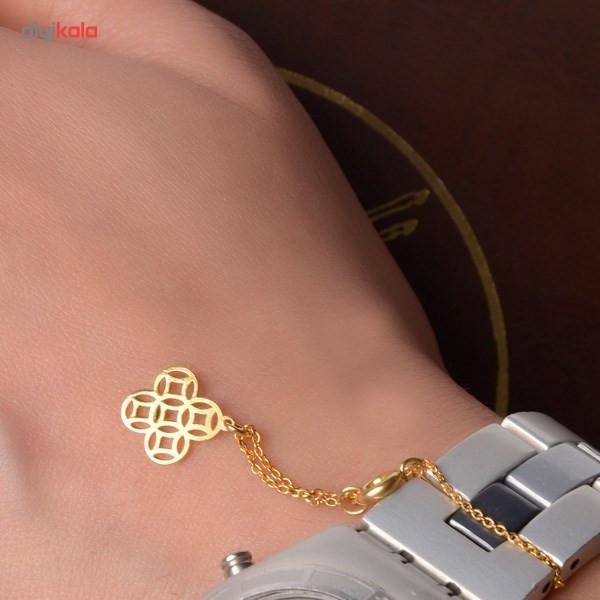 آویز ساعت طلا 18 عیار شانا مدل W-SG10