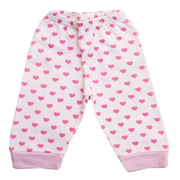 شلوار نوزادی دخترانه طرح قلب