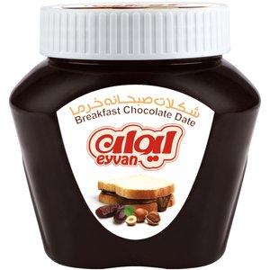 شکلات صبحانه خرمایی ایوان مقدار 450 گرم