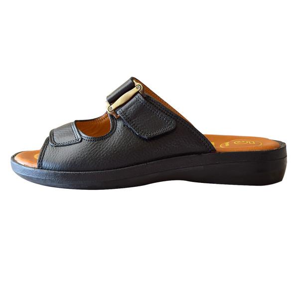 صندل مردانه کفش آداک مدل برلین کد 201 رنگ مشکی