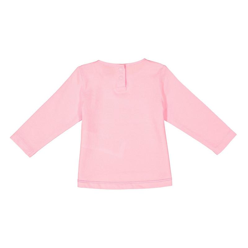 تی شرت نخی آستین بلند نوزادی دخترانه - اس.اولیور