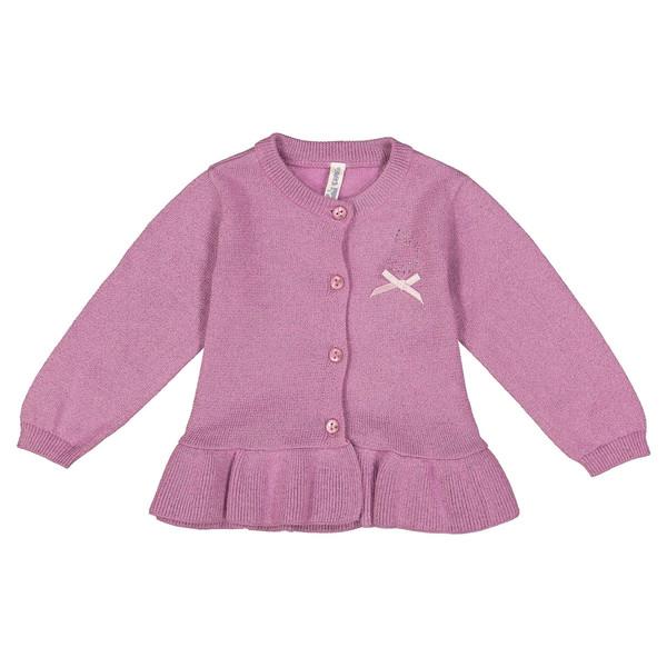 ژاکت دکمه دار نوزادی دخترانه - ایدکس