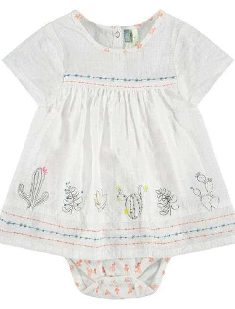 پیراهن و شورت نوزادی دخترانه - ارکسترا