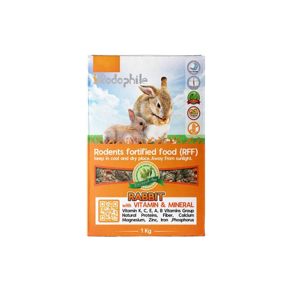 غذای خرگوش رودوفیل مدل RFF 2002 وزن 1 کیلوگرم