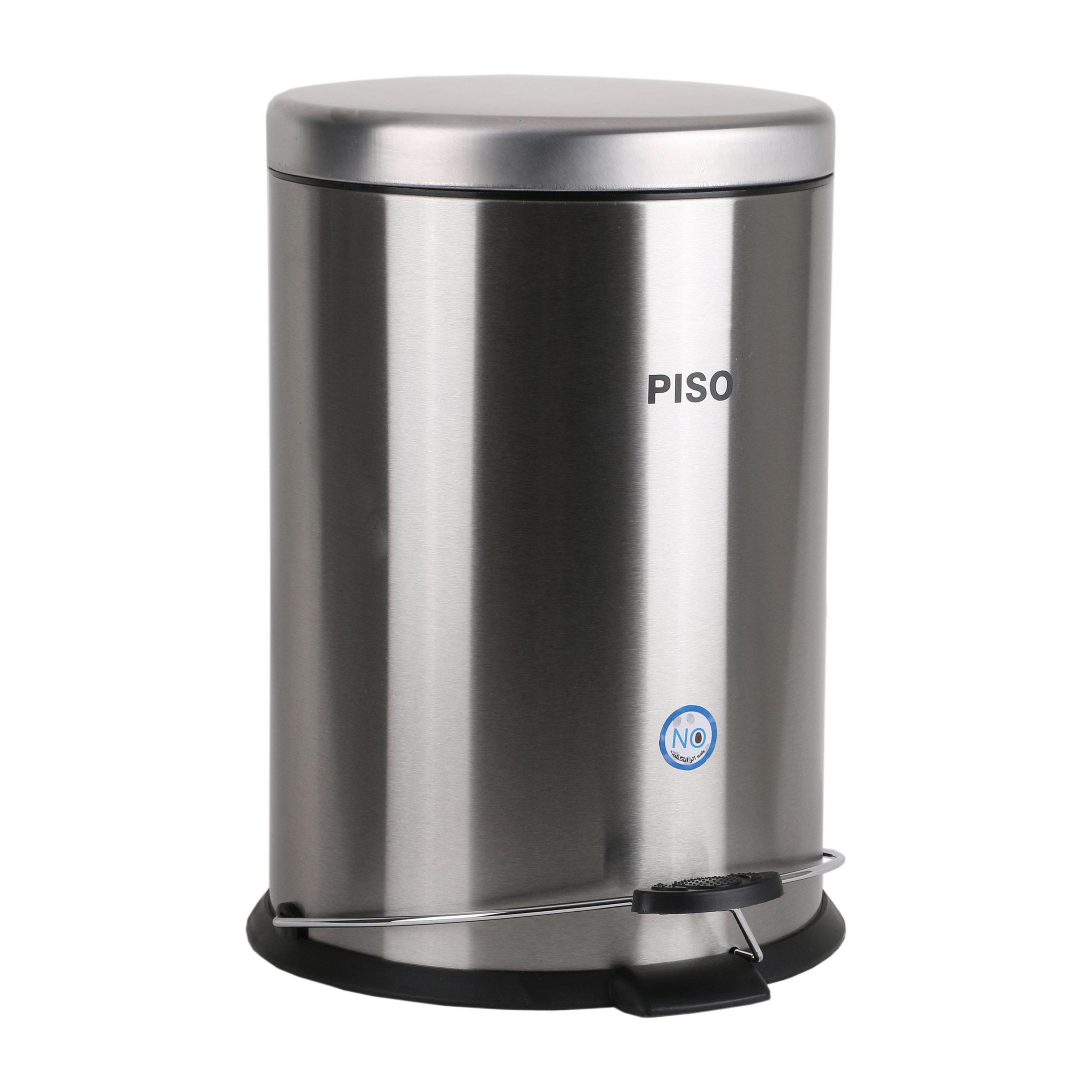 سطل زباله پدالی پیسو مدل SS-20 ظرفیت 20 لیتر