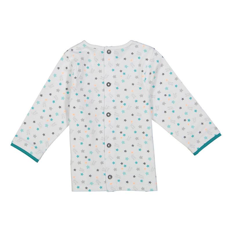 تی شرت نخی طرح دار نوزادی دخترانه - ارکسترا