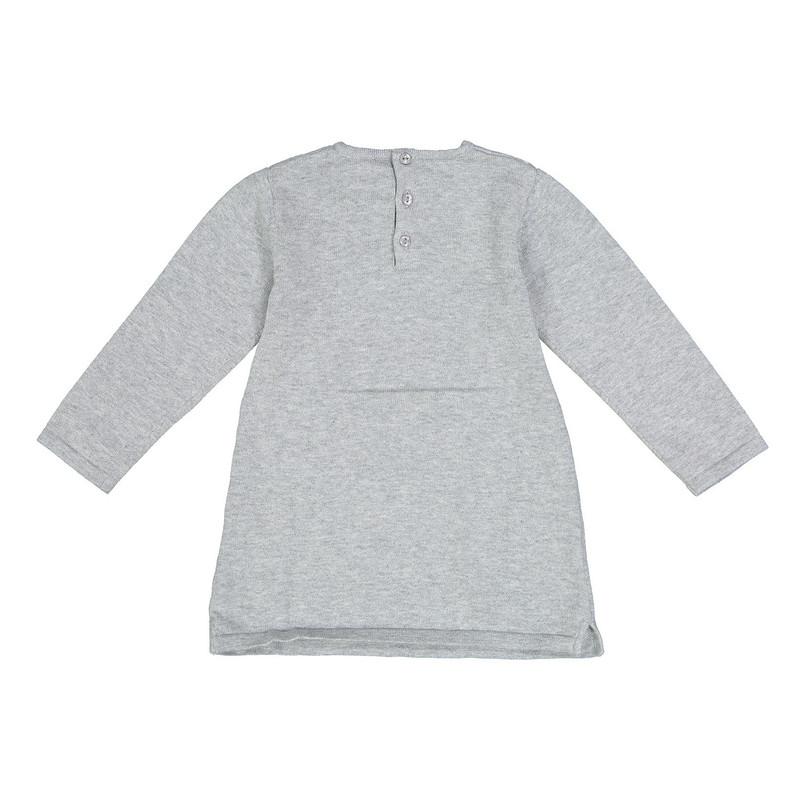 پیراهن بافتنی نوزادی دخترانه - ایدکس