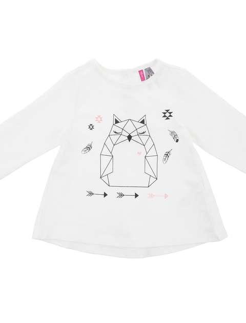 تی شرت نخی نوزادی دخترانه - ارکسترا