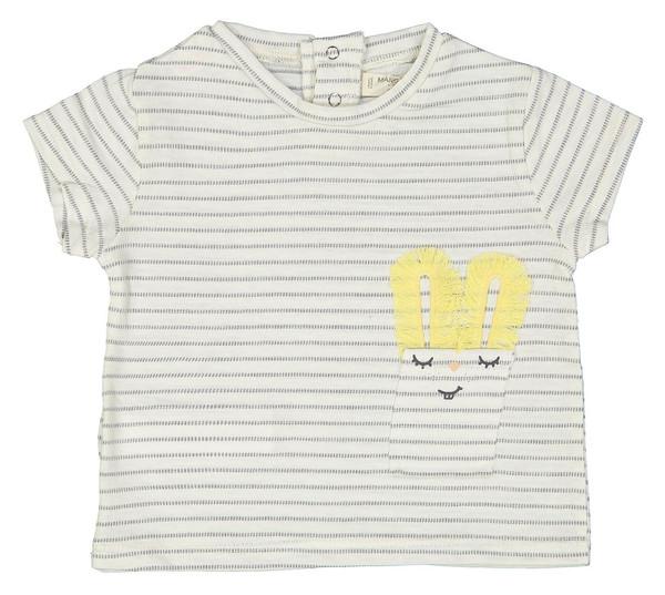 تی شرت نخی نوزادی دخترانه - مانگو