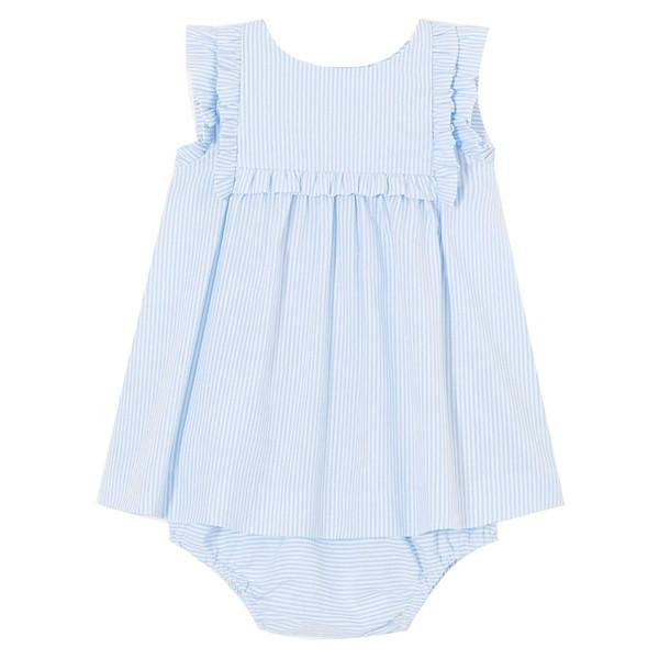 پیراهن نخی نوزادی دخترانه Louve - جاکادی