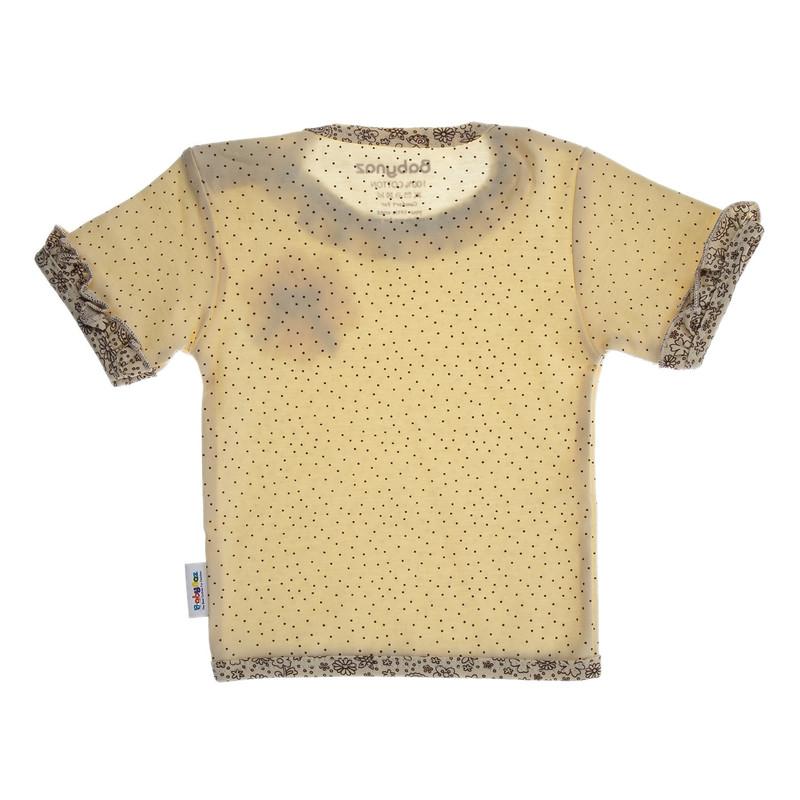تی شرت نخی طرح دار دخترانه - بی بی ناز