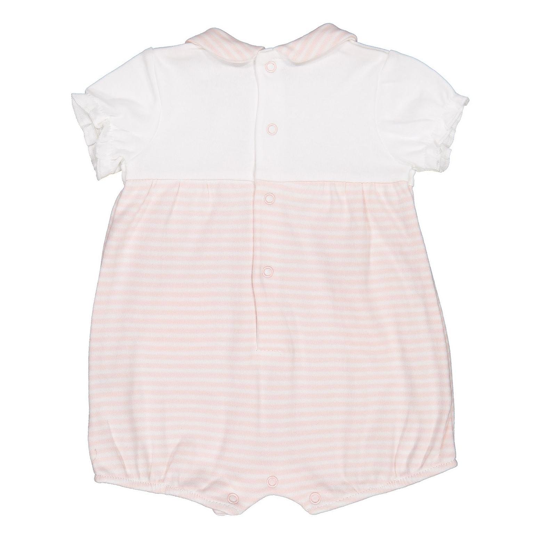 سرهمی نخی نوزادی دخترانه - بلوکیدز - سفید و صورتی - 2