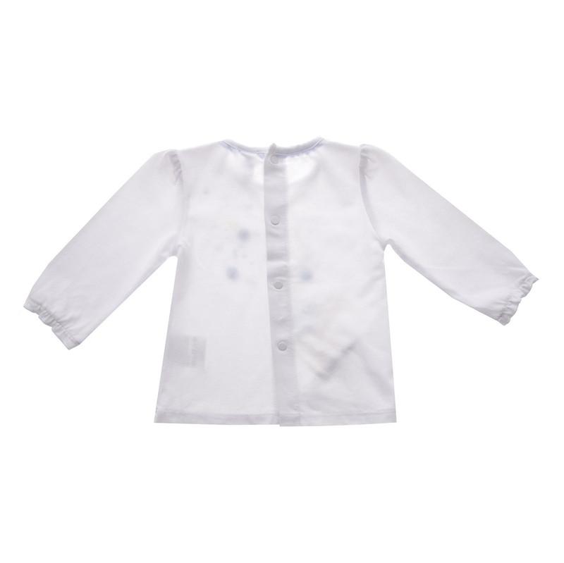تی شرت نخی آستین بلند نوزادی دخترانه - ایدکس