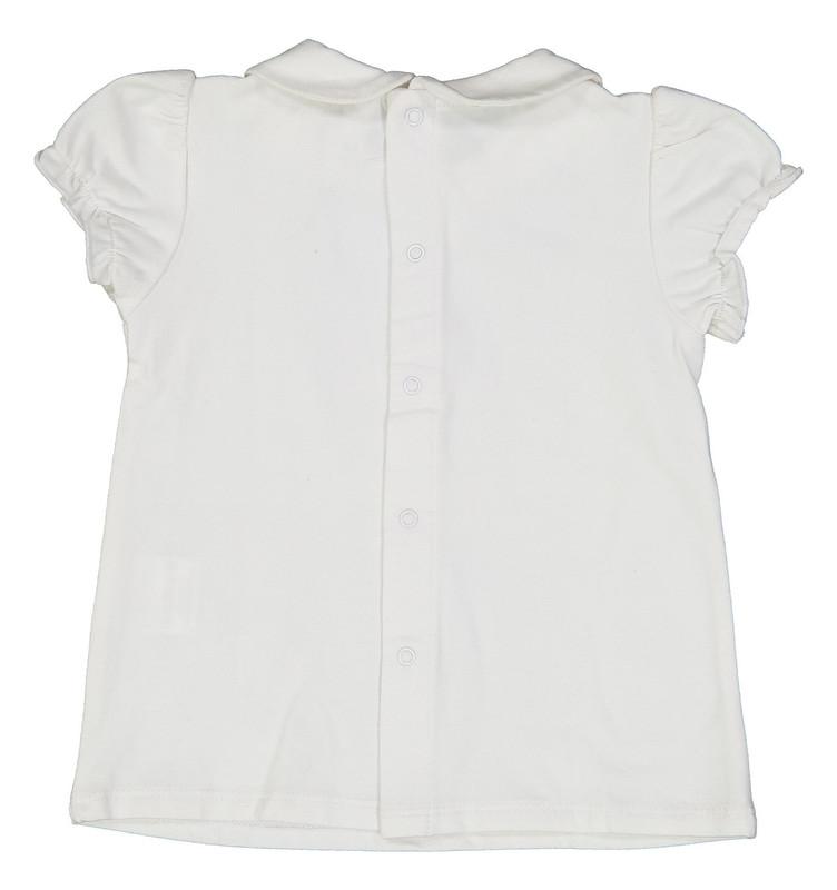 تی شرت نخی ساده نوزادی دخترانه - ایدکس