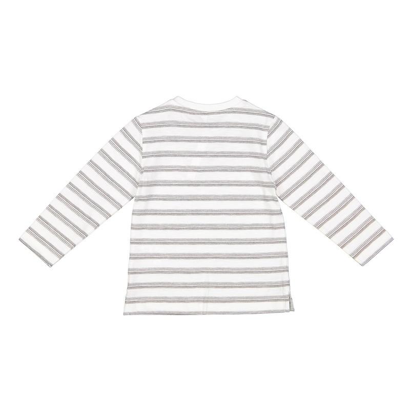 تی شرت نخی طرح دار نوزادی پسرانه - ایدکس