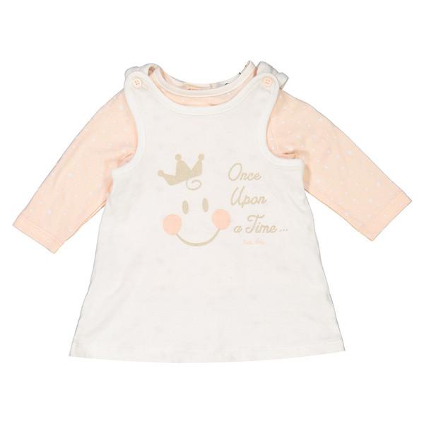 تی شرت نخی آستین بلند نوزادی دخترانه - ارکسترا