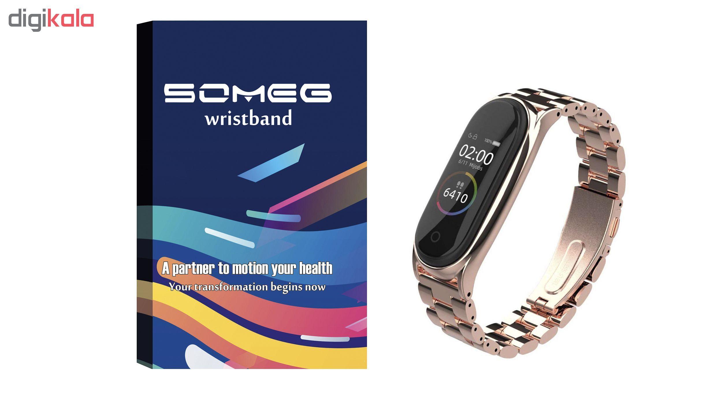 بند سومگ مدل SMG-R4 مناسب برای مچ بند هوشمند شیائومی mi band 4 main 1 15
