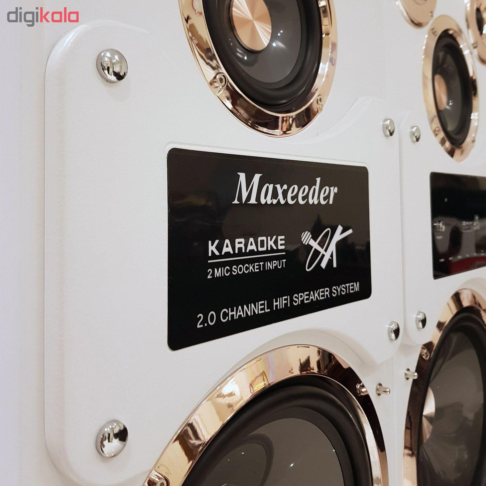 پخش کننده خانگی مکسیدر مدل IR109c main 1 4