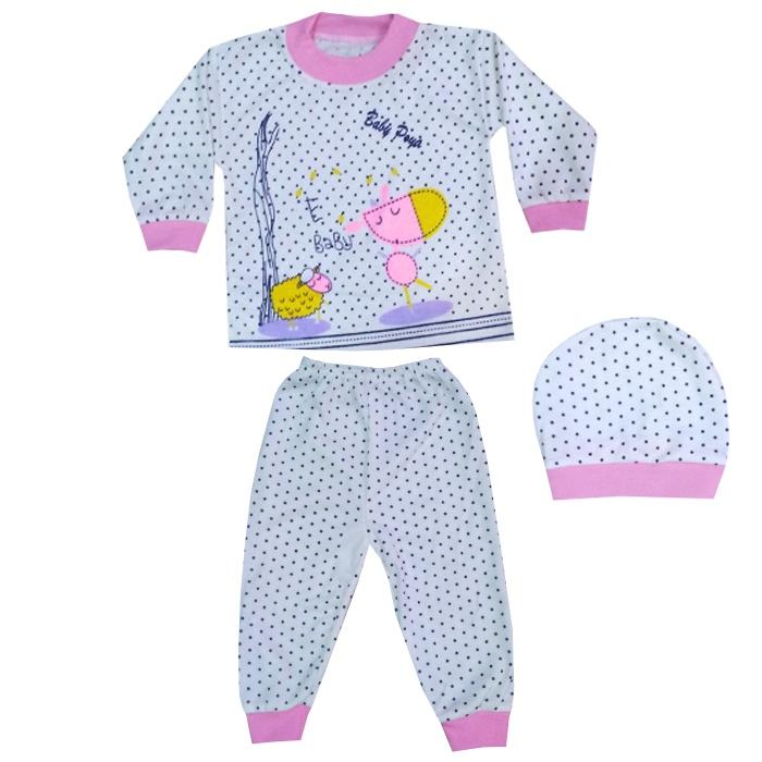 ست 3 تکه لباس نوزادی کد 28-31