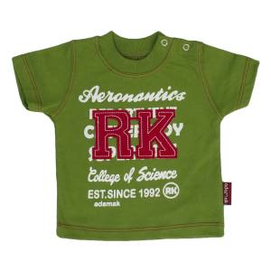 تی شرت نوزادی پسرانه آدمک مدل 143401G