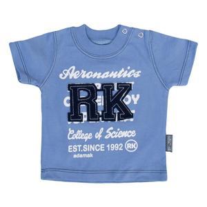 تی شرت نوزادی پسرانه آدمک مدل 143401B