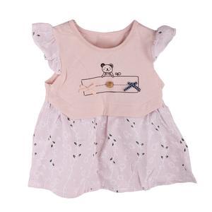 پیراهن نوزادی دخترانه کد 411