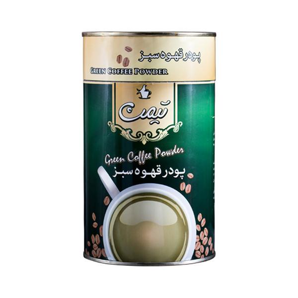 پودر قهوه سبز تیمن  مقدار 125 گرم