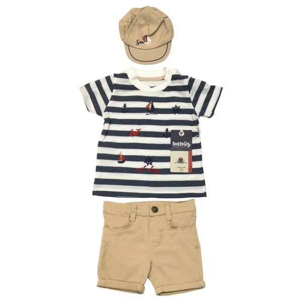 ست 3 تکه لباس نوزادی ببوش کد L8579.6