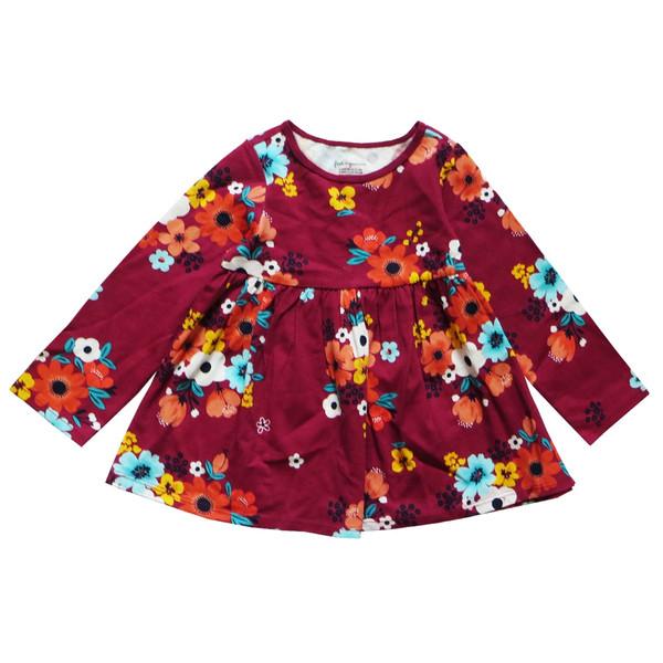 پیراهن نوزادی دخترانه فرست ایمپرژن مدل 98760