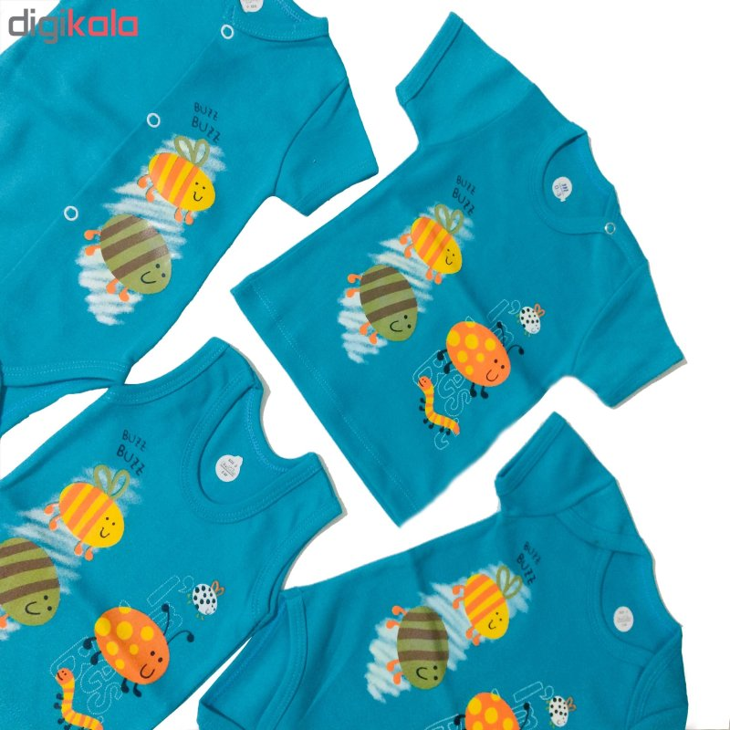 تاپ نوزادی طرح زنبور کد 55