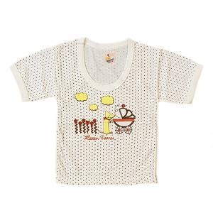 تی شرت نوزادی پنبه ای کد 55555