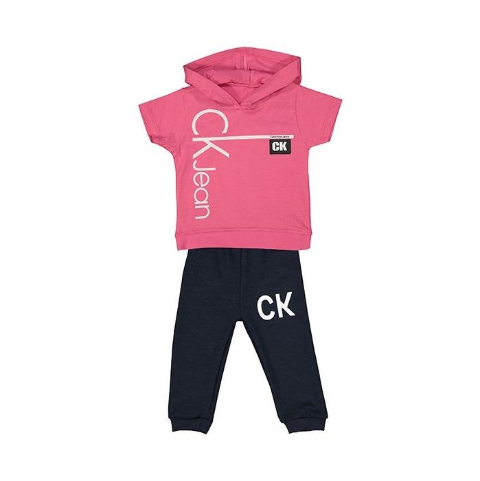 ست تی شرت و شلوارک نوزادی کد 1