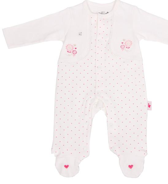 سرهمی نوزادی نیلی طرح قلب کد 0021
